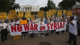 Stop US/NATO Stop Aggression on Syria.
