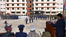 BOLIVIA OPENS 'ANTI-IMPERIALIST' MILITARY SCHOOL TO COUNTER US FOREIGN POLICIES