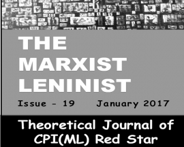 MARX'S ECOLOGY AND THE LEFT John Bellamy Foster and Brett Clark