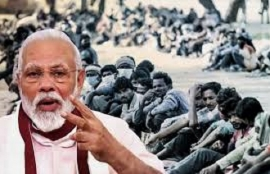 Modi's speech and his FM's explanations totally sideline the starving poor.