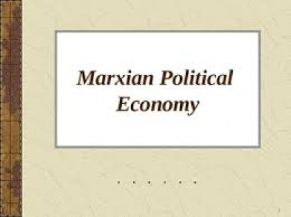 Marxist Political Economy - P J James