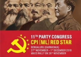 DRAFT POLITICAL RESOLUTION TO 11TH CONGRESS OF THE CPI(ML) RED STAR