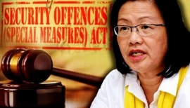 A Spineless Move! The Arrest of Maria Chin under SOSMA!