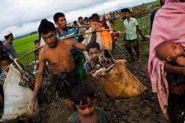 Condemn Modi Regime's Saffronisation of Rohingya Refugee Question!