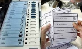 EVMS SHOULD BE REPLACED WITH BALLOT PAPERS