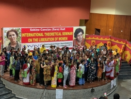 STATEMENT BY WORLD WOMEN'S CONFERENCE ON THEORETICAL SEMINAR OF THE GRASSROOTS WOMEN