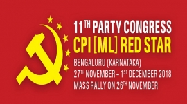 CPI(ML) Red Star's Call: Defeat BJP in 2019 Elections