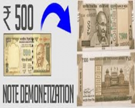Demonetization of Notes: Image-building at the cost of people through cosmetic exercises.