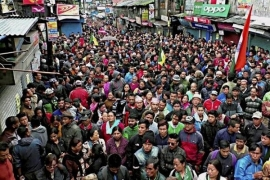 STATEMENT ON GORKHALAND STRUGGLE