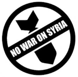 No to US Bombing of Syria!