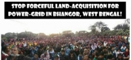Victory at Bhangar Shows the People's Support to the Movement against Power Grid