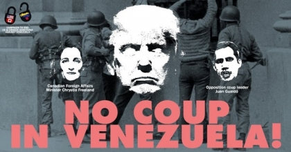 Oppose US interference in Venezuela