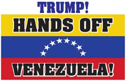 ICOR CALL: HANDS OFF VENEZUELA!