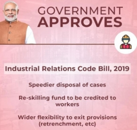 TUCI'S COMMENTS ON DRAFT BILL ON THE CODE FOR INDUSTRIAL RELATIONS 2019  - SANJAY SINGHVI