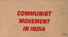 History of the Communist Movement in India - KN Ramachandran