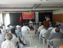 Unity Conference of CPI (ML) Maharashtra and CPI (ML) Redstar successfully concluded on 10th November 2019 at Pune